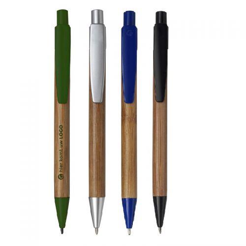 Kugelschreiber Aus Bambus Greengiving De